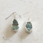 Small Tear Labradorite Earrings