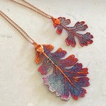 Autumn Rainbow Oak Pendant