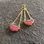 Helios Pink Earrings