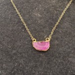 Helios Pink Small Pendant