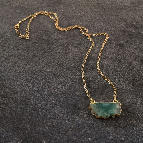 Helios Green Small Pendant
