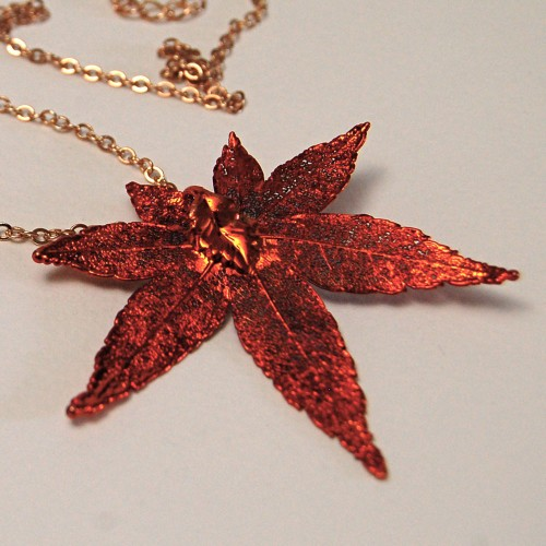 Autumn Rainbow Japanese Maple Pendant